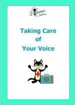 Image of front cover of Taking Care of Your Voice e-book